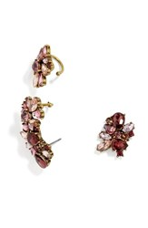 Baublebar Women's 'Halsey' Stud Earring Ear Crawler And Cuff Set