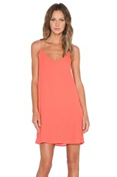 Blaque Label Tank Dress Orange