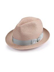 Barbisio Handmade Woven Straw Hat Brown