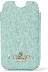 Valentino Leather Iphone Case Green