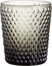 Cb2 Scale Smoke Double Old Fashioned Glass