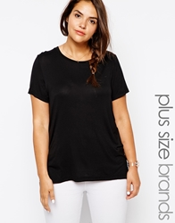 Junarose Short Sleeve Tshirt Black