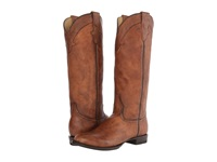 Stetson Round Toe Riding Boot Brown Cowboy Boots