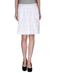 Tommy Hilfiger Skirts Knee Length Skirts Women White