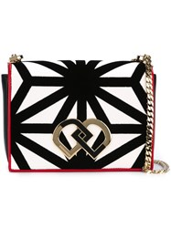 Dsquared2 Medium 'Dd' Crossbody Bag White