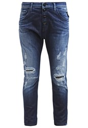 Replay Pilar Relaxed Fit Jeans Bright Blue Blue Denim