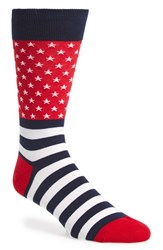 Hot Sox Men's 'Flag' Socks