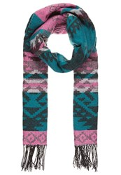Miss Selfridge Scarf Multi Bright Petrol