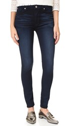 Hudson Barbara High Waisted Super Skinny Jeans Night Vision