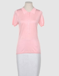 Snobby Sheep Short Sleeve Sweaters Pink