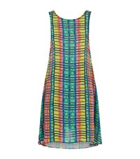 Mara Hoffman Printed Swing Dress Female Blue