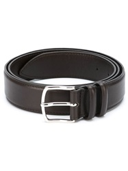 Orciani Classic Buckle Belt Brown