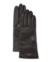 Ugg Cashmere Lined Leather Tech Gloves Black