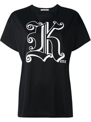 Christopher Kane T Shirt Black