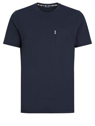 Aquascutum London Men's Cullen Crew Neck Tee Navy