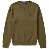 Polo Ralph Lauren Pima Cotton Crew Knit Green