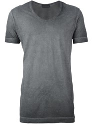 Diesel Black Gold 'Tilon' T Shirt Grey
