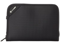 Pacsafe Rfidsafe V150 Anti Theft Rfid Blocking Compact Organizer Black Wallet