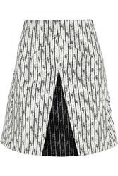 Roland Mouret Aven Tweed Mini Skirt