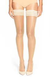 Women's Falke 'Pure Matt 20' Sheer Thigh High Stockings