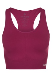 Hummel Sports Bra Magenta Purple