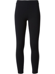 David Lerner Side Panel Leggings Black