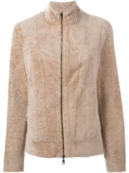 Drome Reversible Zipped Jacket Nude And Neutrals