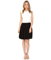 Ted Baker Glina Pleated Full Skirt Dress Black Women's Dress