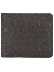 Coach Flap Square Wallet Brown