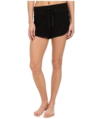 Midnight By Carole Hochman Lounge Capsule Lounge Short Black Women's Pajama