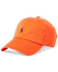 Polo Ralph Lauren Men's Classic Sports Cap Orange