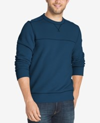 G.H. Bass And Co. Men's Fleece Pullover Bright Blue
