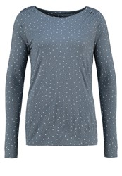 Opus Long Sleeved Top Stormy Blue