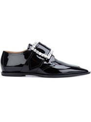 Maison Martin Margiela Buckle Loafer Shoes Black