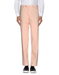 Canali Sportswear Trousers Casual Trousers Men Salmon Pink