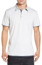 7 Diamonds Men's 'Ultimate' Polo Oatmeal