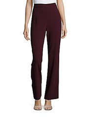 1.State High Waisted Flare Pants Cherry Noir