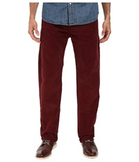 Dockers New Five Pocket Straight Dark Russet Men's Casual Pants Red