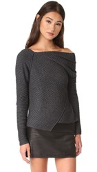 Free People Love And Harmony Sweater Dark Grey
