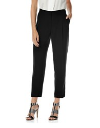 Laundry By Shelli Segal Pleated Anklet Pants Black