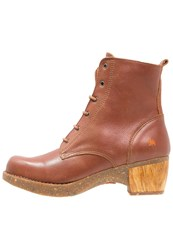 Art Zundert Laceup Boots Brown