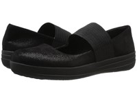 Fitflop F Sporty Mary Jane Black Glimmer Women's Shoes