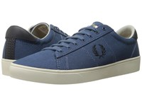 Fred Perry Spencer Canvas Midnight Blue Navy Men's Lace Up Casual Shoes