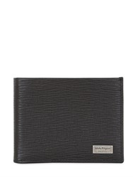 Salvatore Ferragamo Revival Print Classic Leather Wallet