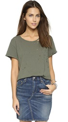Rta Jewel Tee Army Green