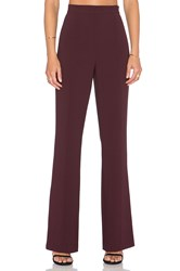 1. State 70'S Flare Pant Wine