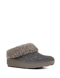 Fitflop Loaff Tm Slip On Slippers Grey