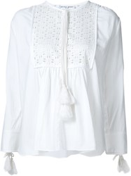 Apiece Apart 'Capellina' Tunic Top White
