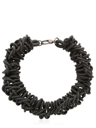 Alienina Odyssee Rubber Necklace Black