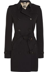 Burberry The Kensington Mid Cotton Gabardine Trench Coat